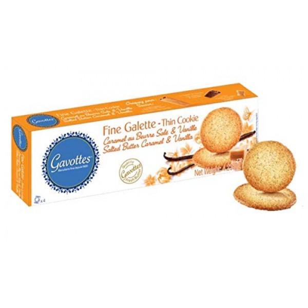 Gavottes Crêpe Dentelle Wafer Bites Filled with Sea Salt Caramel...