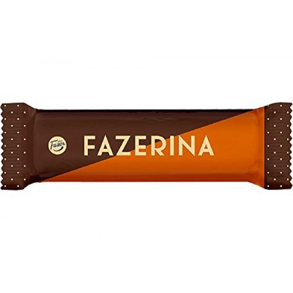5 Bars x 37g of Fazer Fazerina - Original - Finnish - Milk Choco...