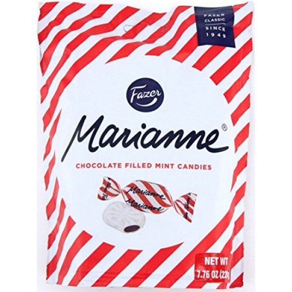 Fazer Marianne Chocolate Filled Mint Candies Imported From Finla...