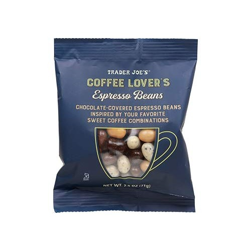 Trader Joes Coffee Lovers Chocolate-Covered Assorted Espresso ...
