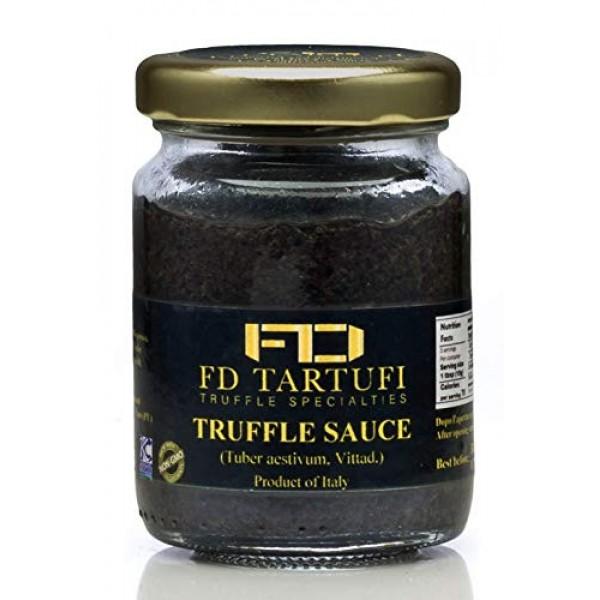 FD TARTUFI Truffle Sauce 80g 2.82oz - Tuber Aestivum Gourmet...