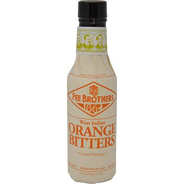 Fee Brothers West Indian Orange Cocktail Bitters