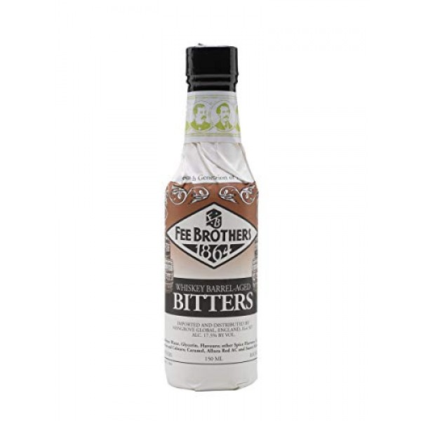 Fee Brothers Whiskey Barrel-Aged Aromatic Bitters - 5 oz