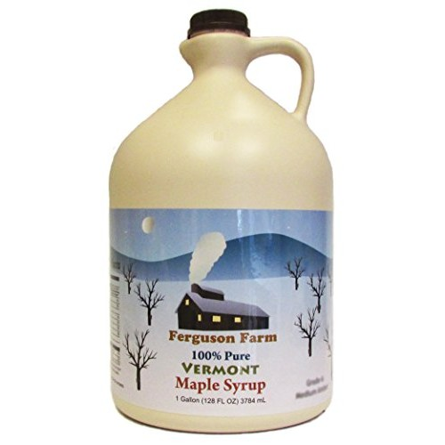 Ferguson Farms 100% Pure Vermont Maple Syrup, Grade A Medium, Ju...
