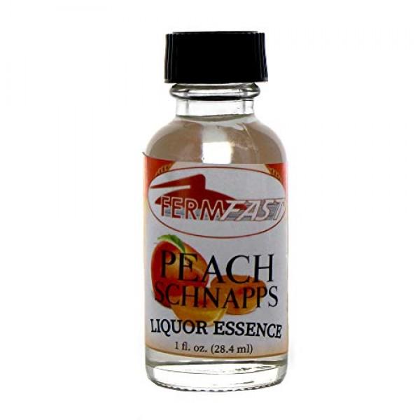 Fermfast Peach Schnapps Liquor Essence 1 Oz