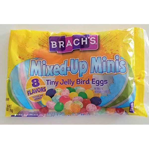 Brachs 1 Bag Mixed-Up Minis Tiny Jelly Bean Easter Bird Eggs ...