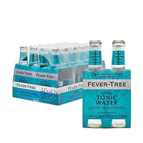 Fever-Tree Citrus Tonic Water, No Artificial Sweeteners, Flavour...