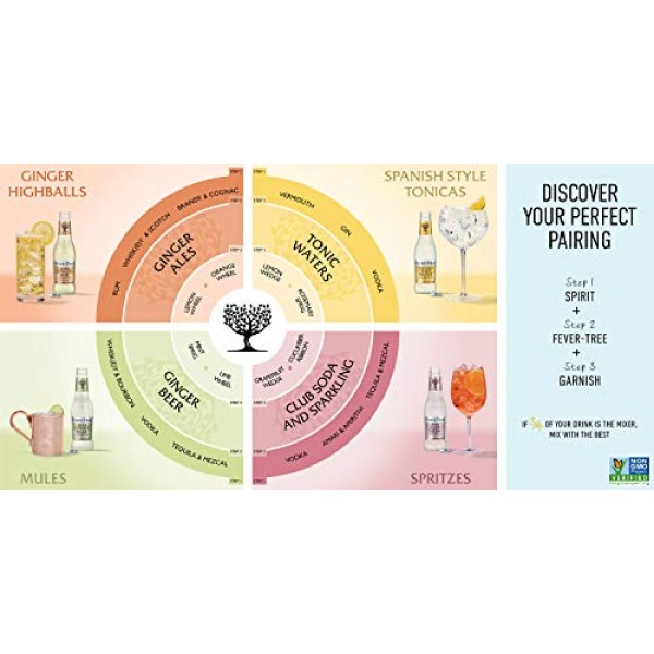 Fever-Tree Premium Ginger Ale, No Artificial Sweeteners, Flavour...