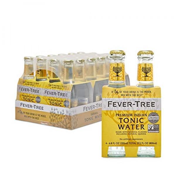 Fever-Tree Premium Indian Tonic Water, No Artificial Sweeteners,...