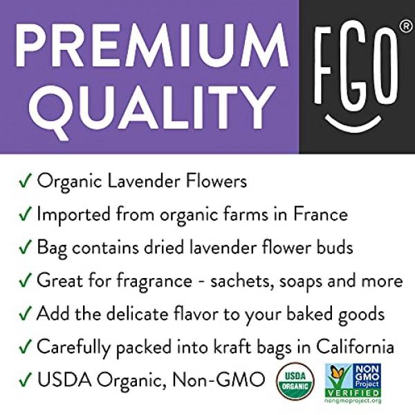 Organic Lavender Flowers Dried   Perfect for Tea, Baking, Lemona...
