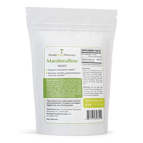 Florida Herbal Pharmacy, ORGANICALLY Grown Marshmallow Root Alt...