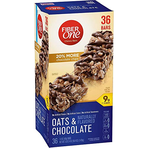 Fiber One Oats and Chocolate Chewy Bars - 20% More Chocolate Chi...