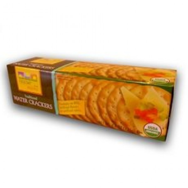 Field Day Crackers Organic Traditional Water, 12 Count