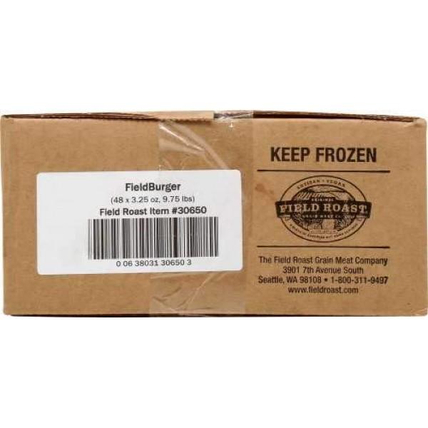 Field Roast Vegan Fieldburger 3.25 ounces Pack of 48