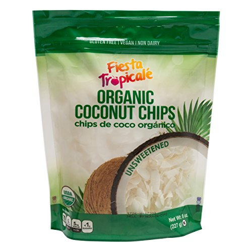 Organic Shredded Coconut Chips (Large Coconut Flakes) Unsweetene...