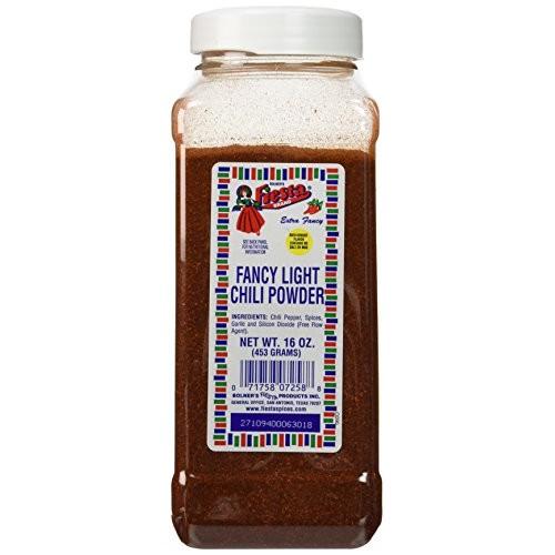 Bolners Fiesta Fancy Light Chili Powder 16oz
