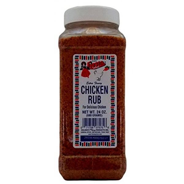 Bolners Fiesta Extra Fancy Chicken Rub, 24 Oz.