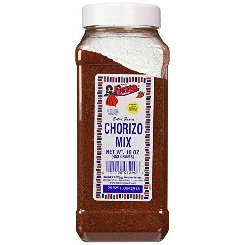Bolners Fiesta Extra Fancy Salt Free Chorizo Mix, 16 Oz.