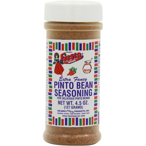Fiesta Seasoning Pinto Bean, 4.5-Ounce Pack of 6
