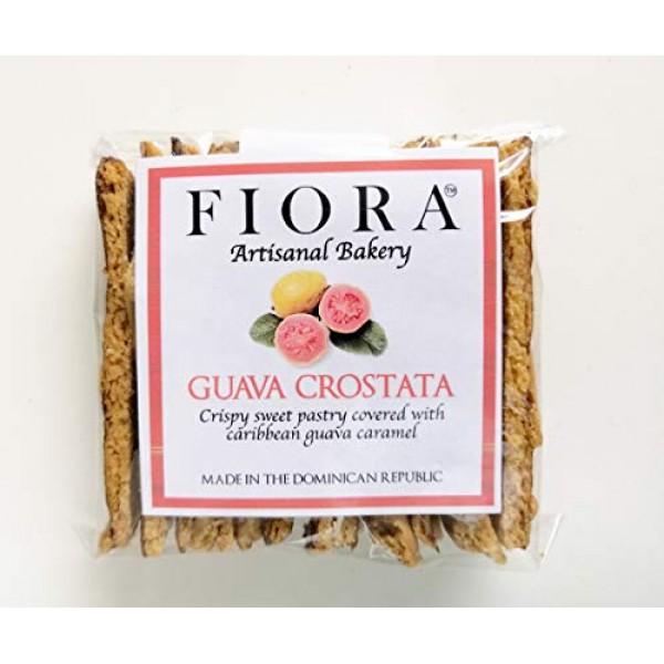 Fiora Crispy Guava Crostata Crispy sweet pastry covered with C...