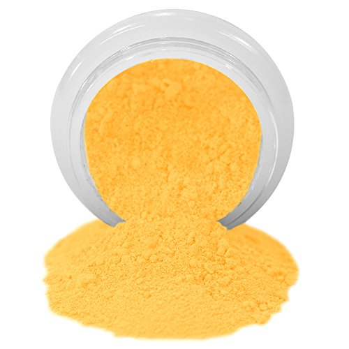 ColorPops by First Impressions Molds Matte Yellow 10 Edible Powd...