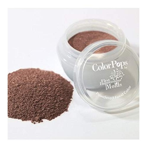ColorPops by First Impressions Molds Pearl Brown 023 Edible Pear...