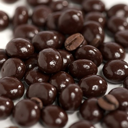 Dark Chocolate Covered Espresso Coffee Beans 2 Lb, 32 oz in Rese...
