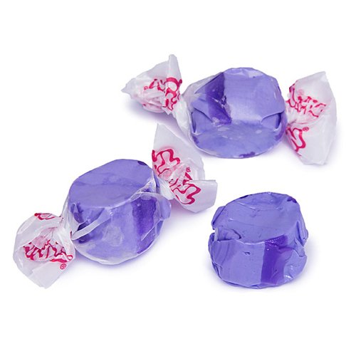 Purple Grape Gourmet Salt Water Taffy 1 LB - 16 oz