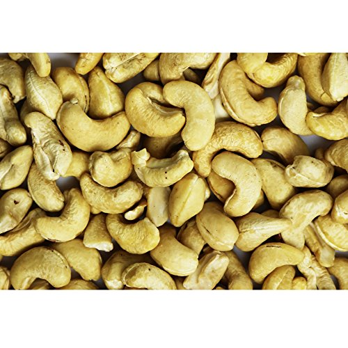 Raw Natural Cashew 3 Pound Bulk Bag