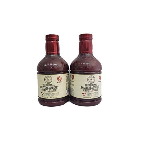 Fischer & Wieser Razzpotle Roasted Raspberry Chipotle Sauce, TWO...
