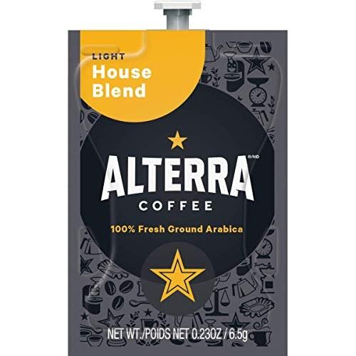 FLAVIA ALTERRA Coffee, House Blend, 20-Count Fresh Packs Pack o...