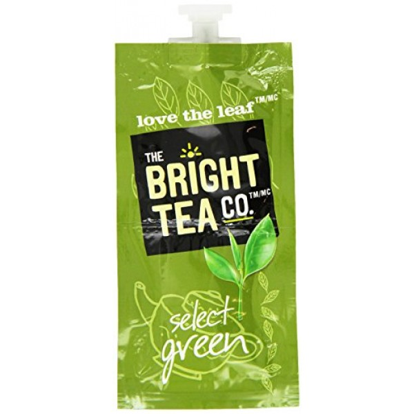 FLAVIA Tea, Select Green, 20-Count Fresh Packs Pack of 5