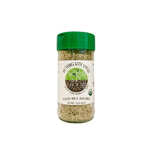 FLAVOR SEED - Anything With Wings Organic Poultry Rub, Dust and ...