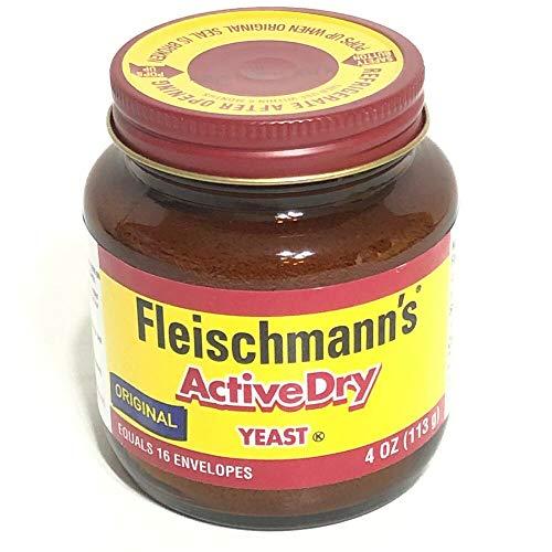 Fleischmanns Classic Active Dry 4 oz Yeast Bread Exp 2021 ...