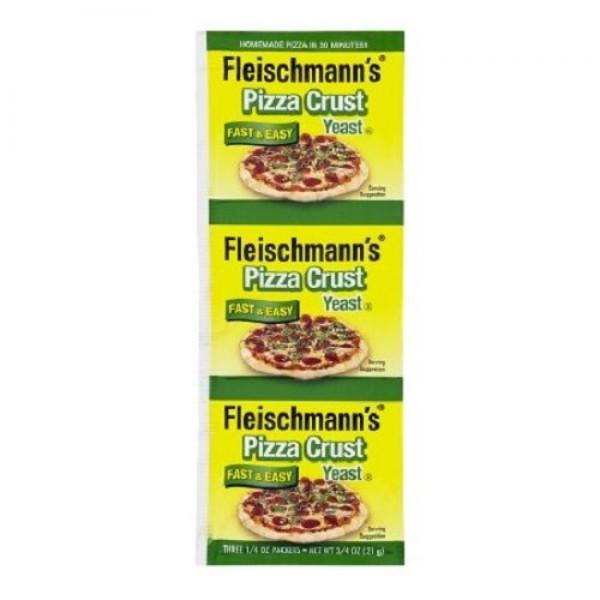 Fleischmanns Pizza Crust Yeast, 0.75 ct