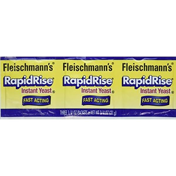 Fleischmanns Rapid Rise Instant Yeast Fast Acting