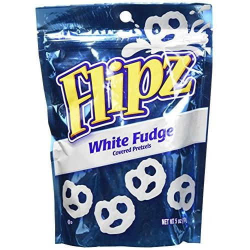 Flipz White Fudge Pretzels, 5oz Pack of 1