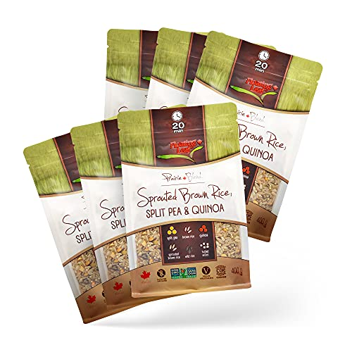 Floating Leaf Fine Foods - Sprouted Brown Rice, Split Pea and Qu...
