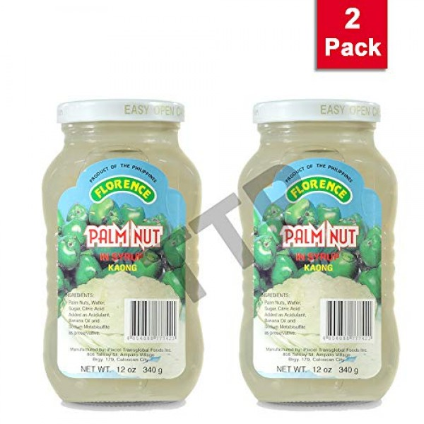 Florence Palm Nut in Syrup Kaong 340g, 2 Pack