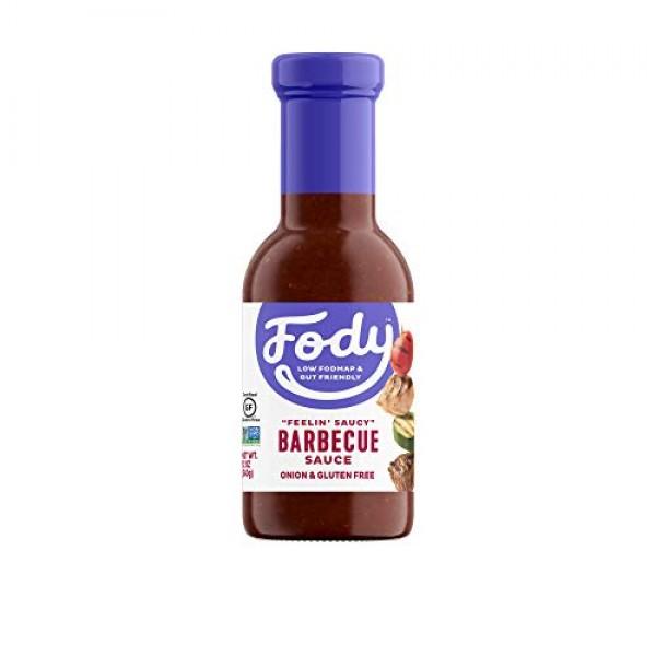 FODY FOOD COMPANY Feelin Saucy Barbecue Sauce, 12 OZ