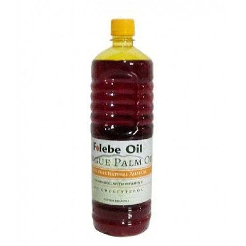 100% Pure Natural Red Palm Oil. 1L. No Cholesterol Cooking Oil w...