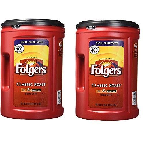 Folgers Coffee, ClassicMedium Roast, 51 Ounce