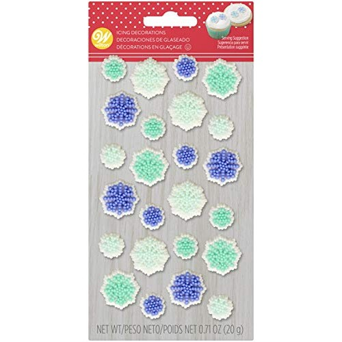 Food Items 708-0-0079 Icing Decorations Snowflake