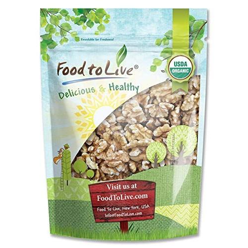 California Organic Walnuts, 8 Ounces - Non-GMO, No Shell, Kosher...