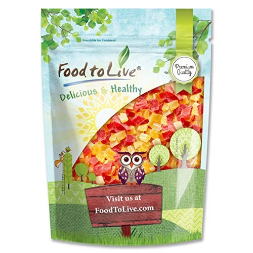 Diced Fruits Mix, 2 Pounds - Contains Dreid and Diced Mango, Pin...