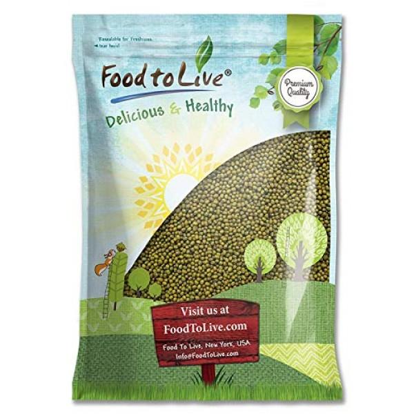 Mung Beans, 5 Pounds - Green, Dried, Kosher, Bulk
