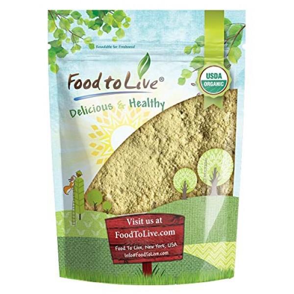 Organic Fenugreek Powder, 8 Ounces — Non-GMO, Raw, Ground Methi ...