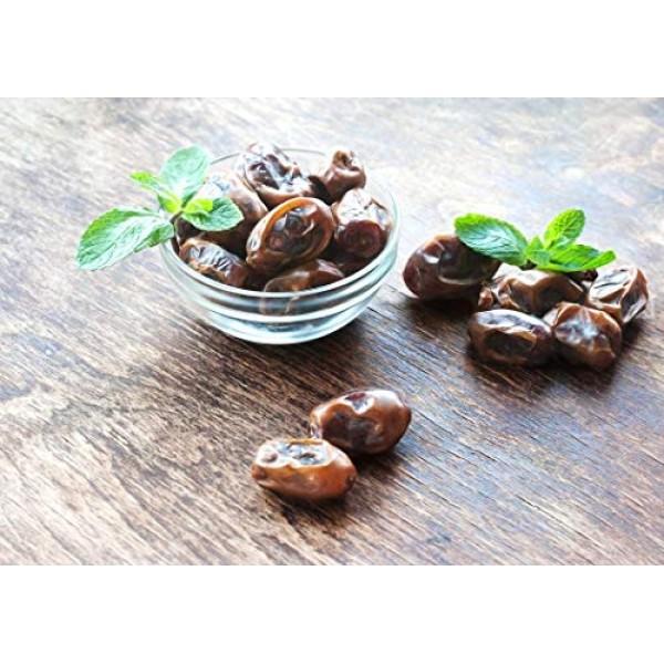 Organic Medjool Dates, 1 Pound - Non-GMO, Raw, Vegan