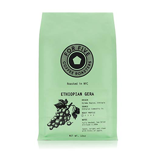 For Five Coffee Roasters Ethiopian Gera Light Roast Origin: Dji...