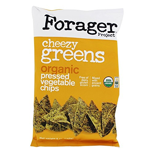 FORAGER PROJECT, VEG CHIPS, OG2, CHZY GREENS, Pack of 12, Size 5...